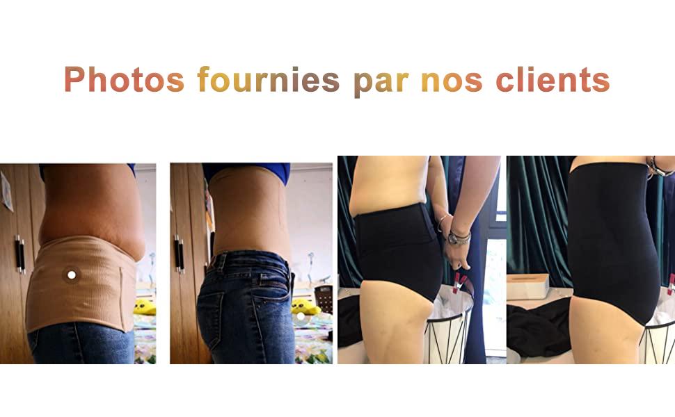 Femme Culotte Gainante Taille Haute Panty Minceur