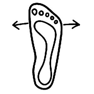 Foot shaped