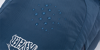 water resistance nylon prevent water from slipping into the bag and protect your outdoor necessities