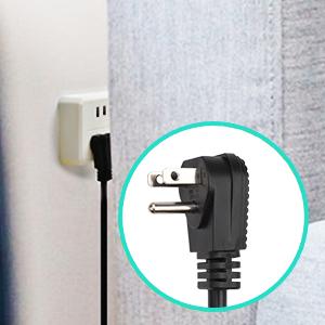 flat plug angle plug angled plug