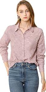 Textured Button Shirt