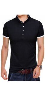 YTD Men's Short Sleeve Polo Shirts