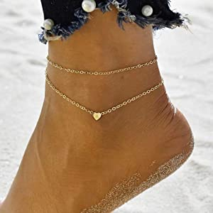 anklet with initials  initial anklet ankle bracelets for women
