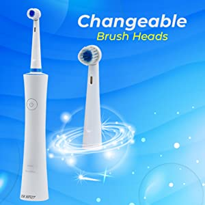 changeable toothbrush heads