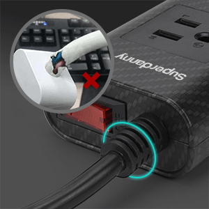 high quality power strip extension cord