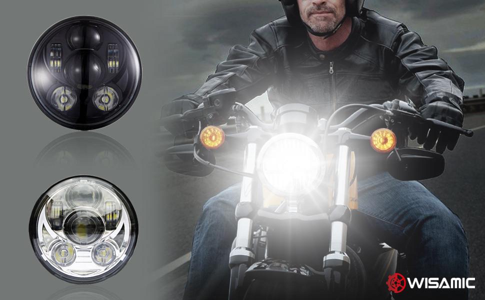 5.75 LED headlight