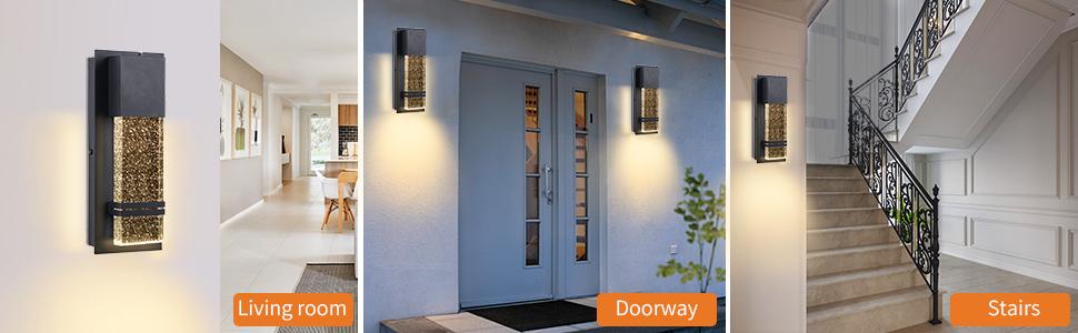 Modern Porch Light Diversified Application