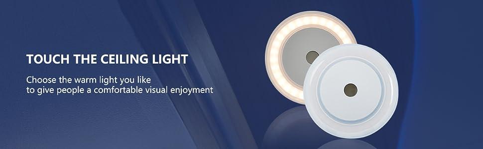 Warm light for rv