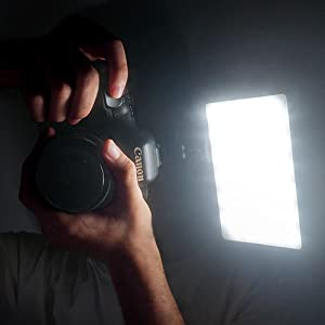 on camera light
