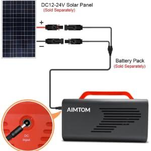 solar charging aimtom sps-230