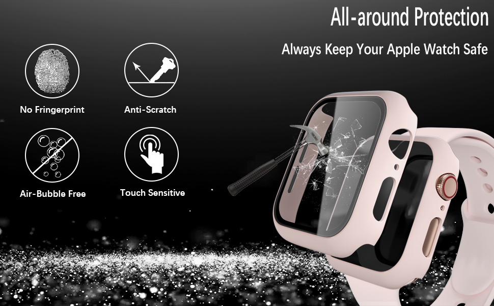 GEAK case compatible for apple watch protector 42mm