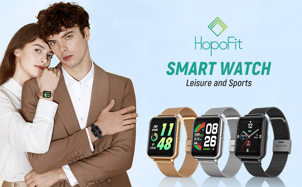 Smart watch for men women