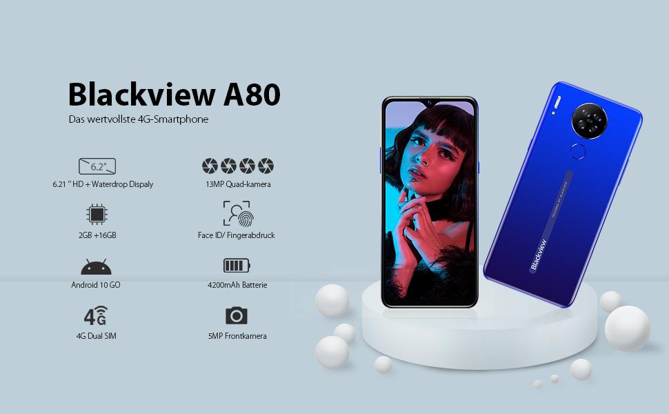 blackview a80 einsteiger smartphone ohne vertrag