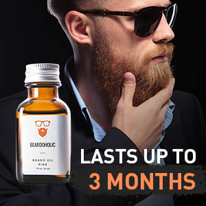 BEARDOHOLIC Premium Quality Beard Oil and Leave-in Conditioner, Softener