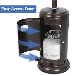 patio heater gas