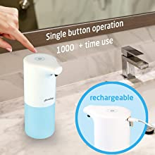 Homehop automatic hand soap dispenser machine for home kitchen