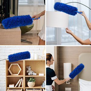 Bendable Duster Head