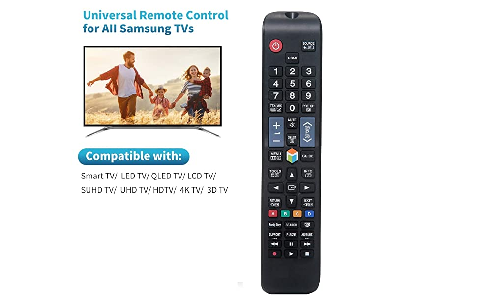 UNIVERSAL REMOTE CONTROL FOR ALL SAMSUNG TV'S