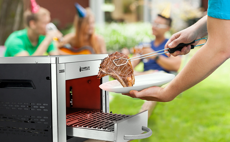propane infrared gas grill