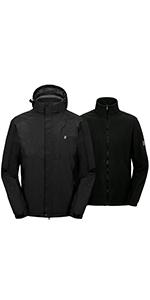 Men's Waterproof 3 in 1 Jacket