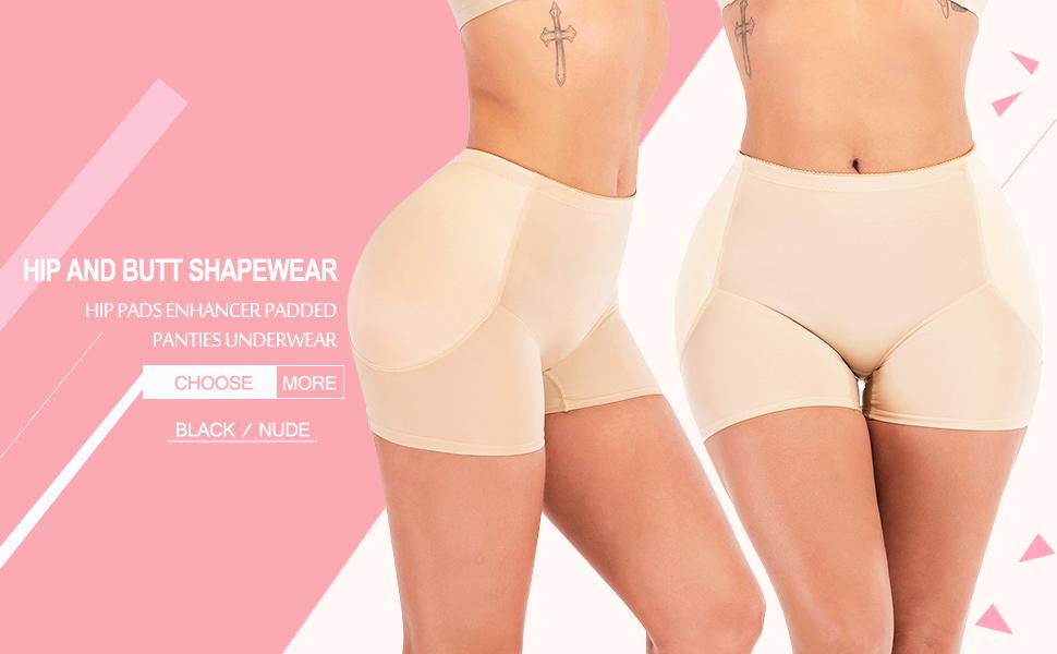 Womens Butt Lifter Enhancer Shaper Control Body Shaper Enhancer Panty Gayly