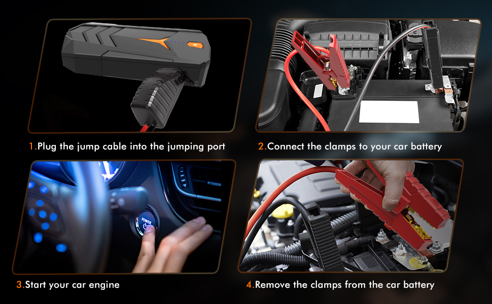 how to jump start the car