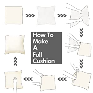 pillow covers cream faux linen set of 4 cases cushion sofa
