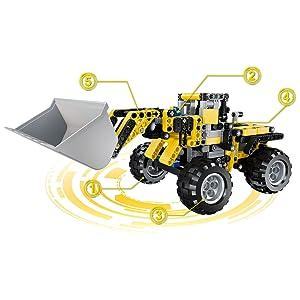 Bulldozer Building Kit