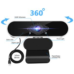 Flashandfocus.com 8793f19f-9e34-4b6b-ac10-481514907770.__CR0,0,300,300_PT0_SX300_V1___ Webcam with Microphone Computer Camera,1080P Webcam for Desktop, USB Plug and Play HD Web Camera with Privacy Cover for…