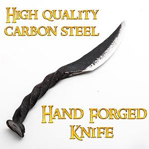 cuchillos forjados a mano vikings blade pocket knife for men railroad spike knives seax rail road