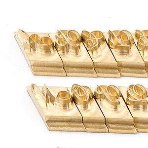 Copper brass set