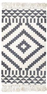 Cotton printed rug
