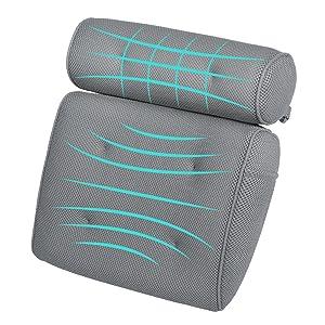 Ergonomic Bath Pillow