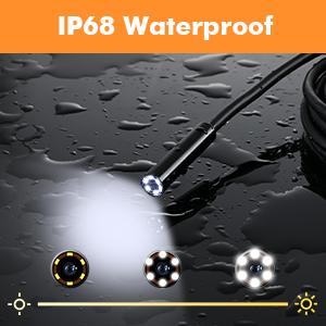 IP68 Waterproof endoscope