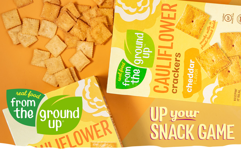 Up Your Snack Game with Real Food From The Ground Up Crackers