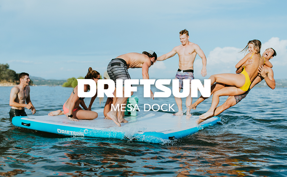 driftsun mesa dock commercial photo