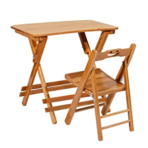 DlandHome - Small Folding Dining Table