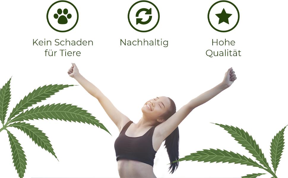 Hemp4Help 200ml Hanf Active Rapid Gel 1er Pack bei Knie, Gelenk-, Nacken- u. Muskel-Schmerzen