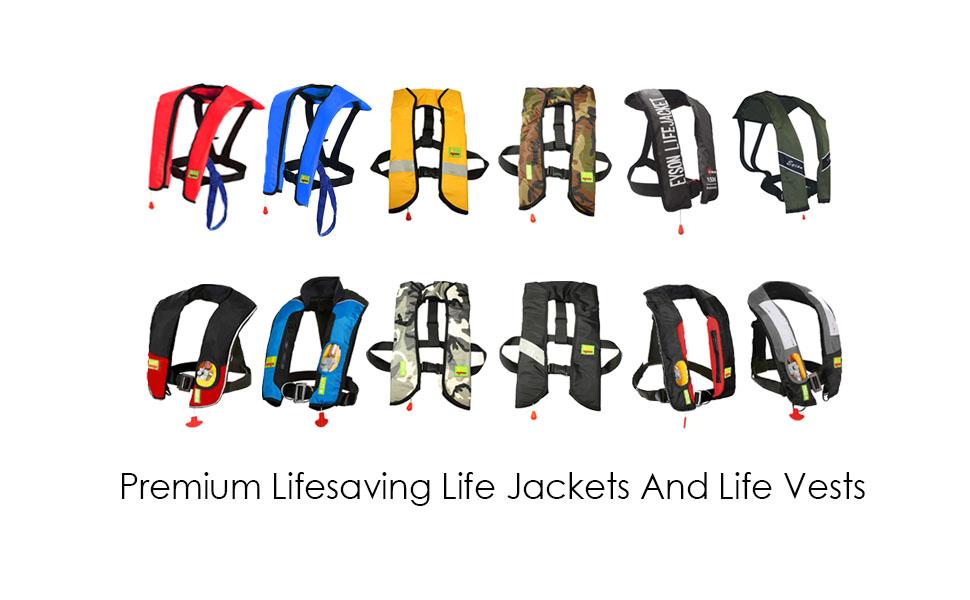 Premium Life Jackets Life vest PFD USCG Approved