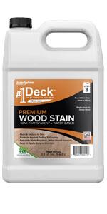 1deck 1 deck wood stain premium semi-transparent pressure treated lumber boards cedar sealer sealant