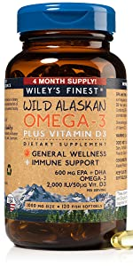 omega-3 plus vitamin d3 fish oil pills