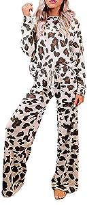 Leopard Printed Pajamas Set