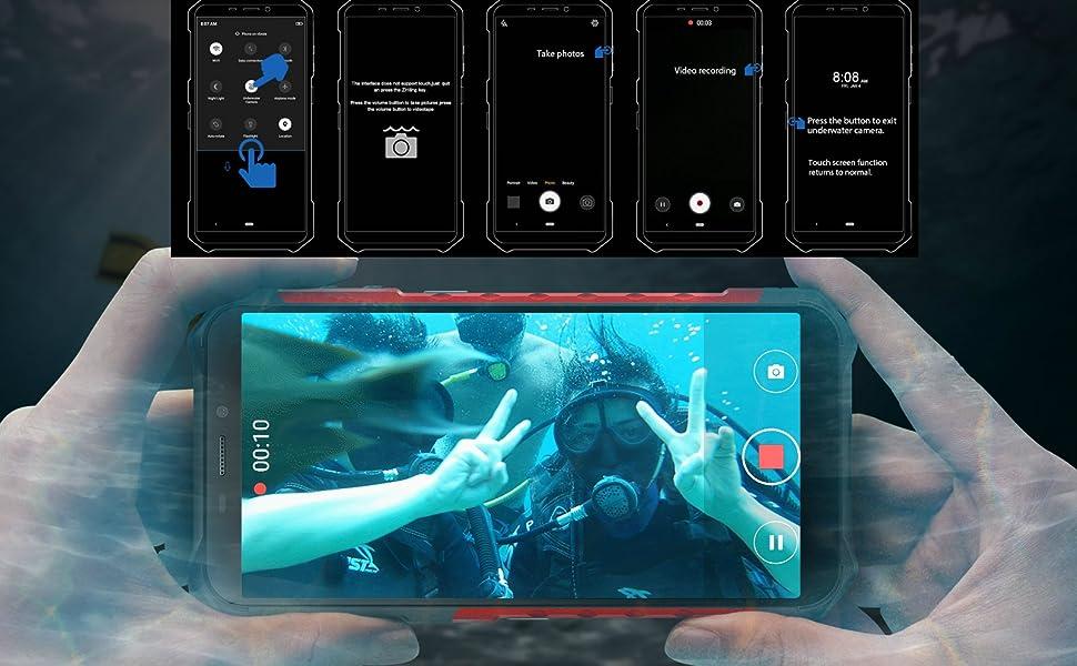 Ulefone armor x3 Underwater Mode