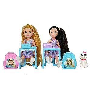 school teacher doll set doll set with pet doll set of teacher student play toys toys for girls