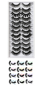 lashes mink natural look  20mm lashes cat eye lashes 3d lashes mink lashes fluffy