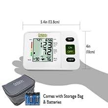 blood pressure upper arm cuff wrist digital automatic bp monitor monitors machine device heart rate