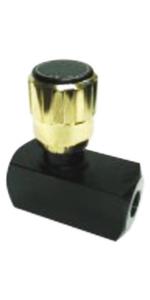 Flow Control Valves (Max Pressure) JP-FC-06-SAE-S - 20 Max GPM, 5000 Max PSI, SAE #6 Port Size