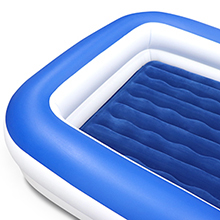 enerplex kids inflatable air mattress travel toddler airbed inflatable bed for toddlers kids airbed