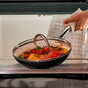 Induction Cookware with Frying Pans Nonstick