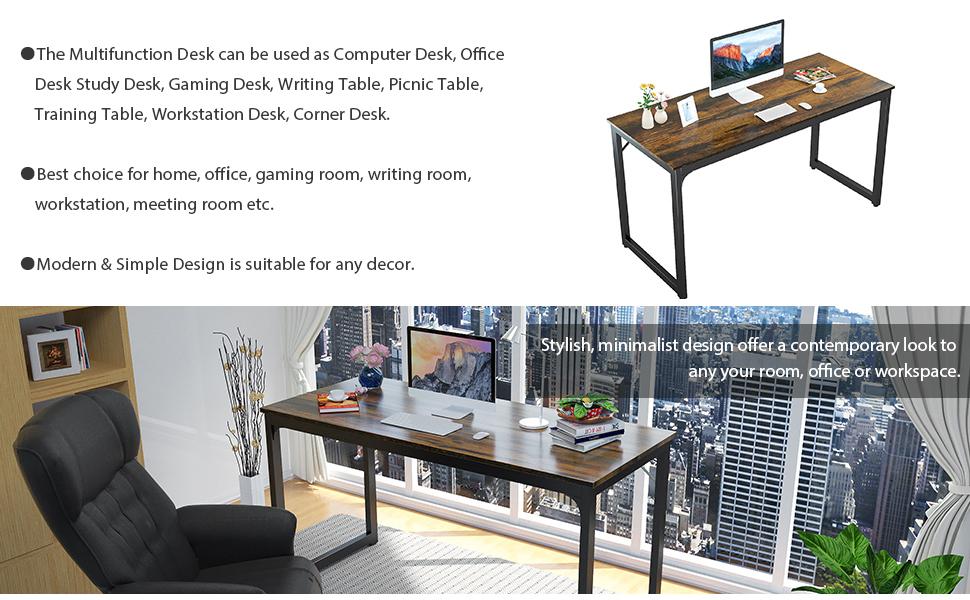 55 study desk